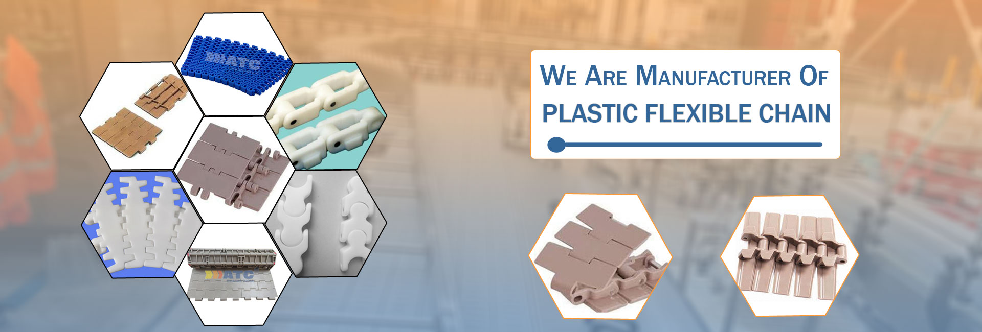 Thermoplastic Chain Manufacturer & Supplier in Coimbatore