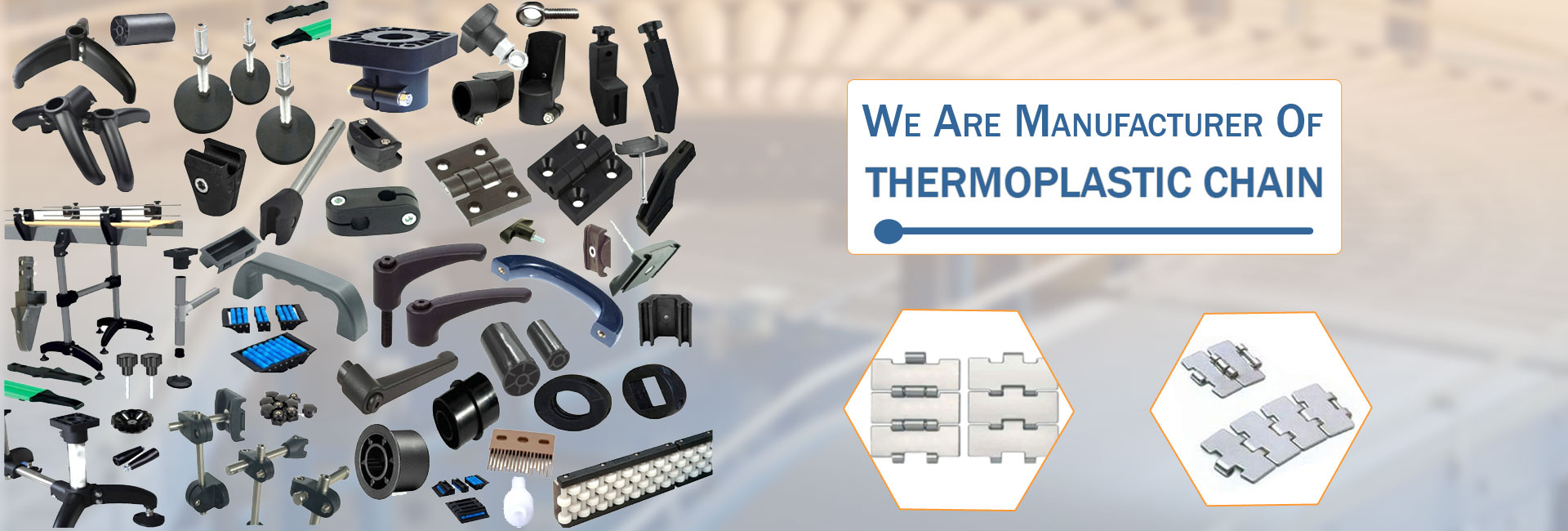Thermoplastic Chain Manufacturer & Supplier in Hyderabad